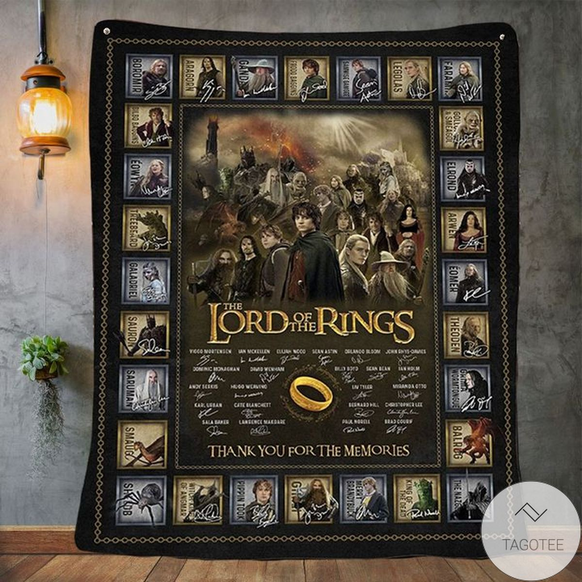 Hot Deal Lord Of The Rings Quilt