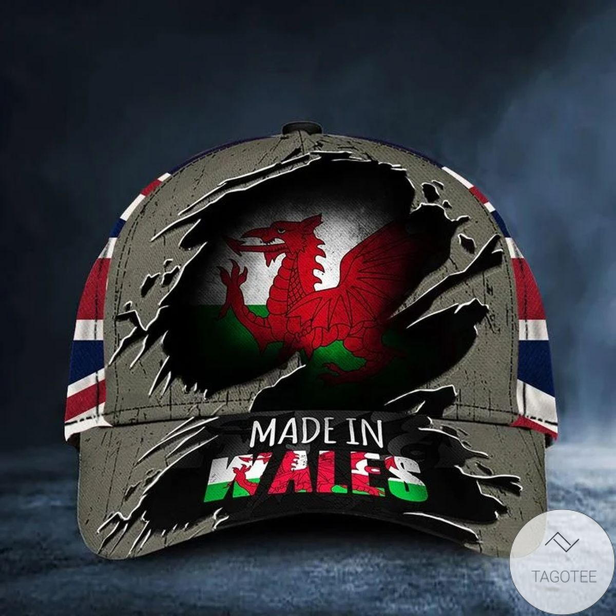 Made In Wales Hat Vintage Wales Flag Cap Patriots Gifts For Him