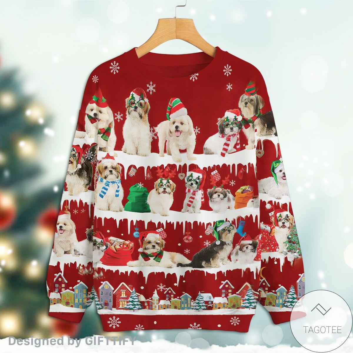Top Selling Malshi Snow Christmas Premium Sweatshirt
