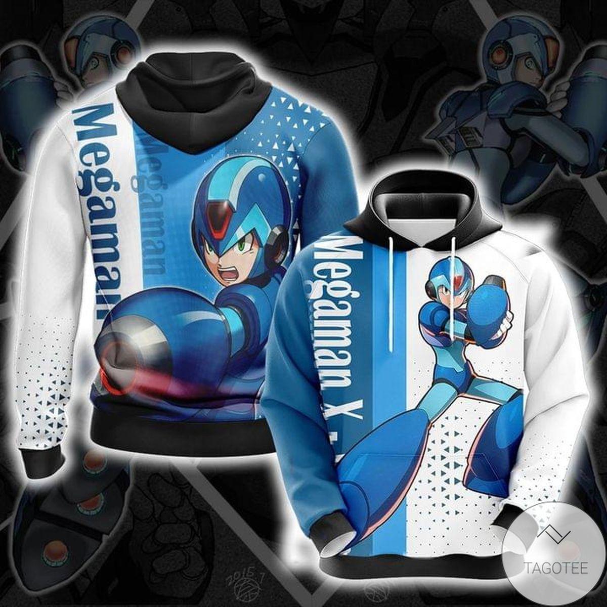 Mega Man Video Game Hoodie