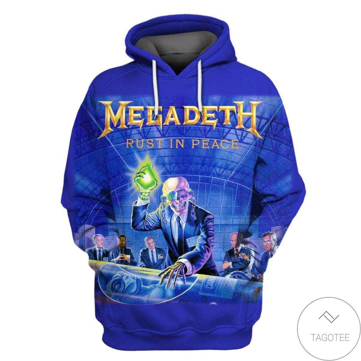 Megadeth Branded Unisex 3d Hoodie