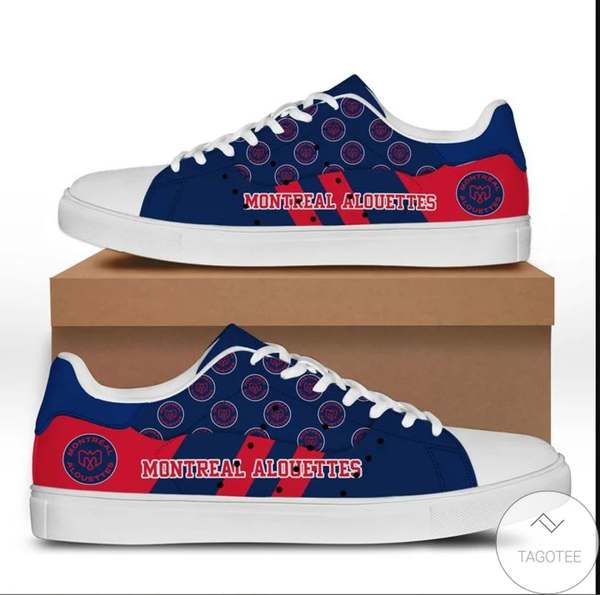 Montreal Alouettes Stan Smith Shoes