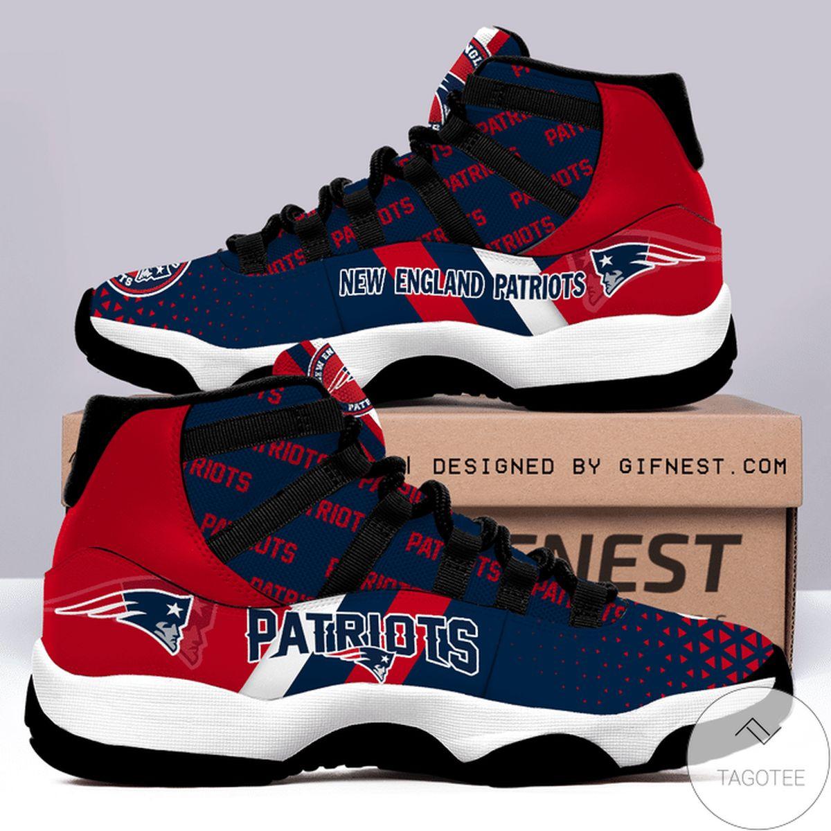 New England Patriots Air Jordan 11 Shoes