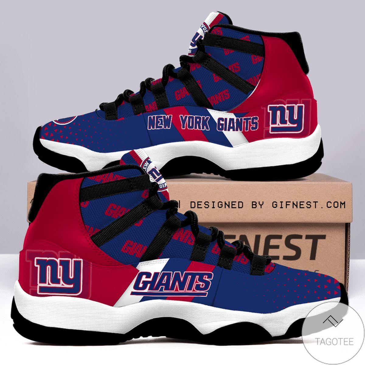 New York Giants Air Jordan 11 Shoes