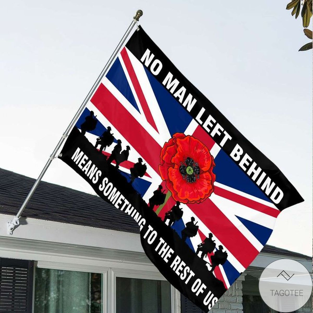 No Man Left Behind Means Something To The Rest Of Us Uk Veteran Flag