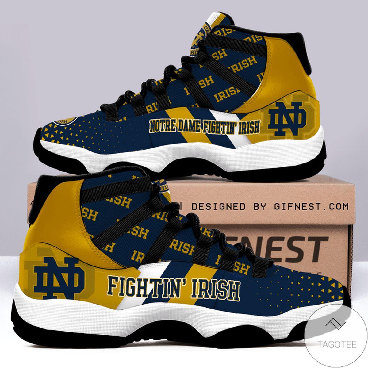 Notre Dame Fighting Irish Air Jordan 11 Shoes