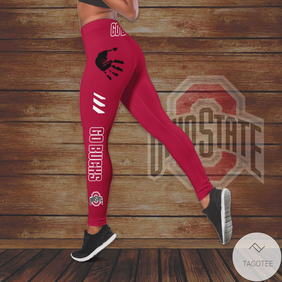 Clothing Ohio State Buckeyes Hollow Tank Top And Leggings