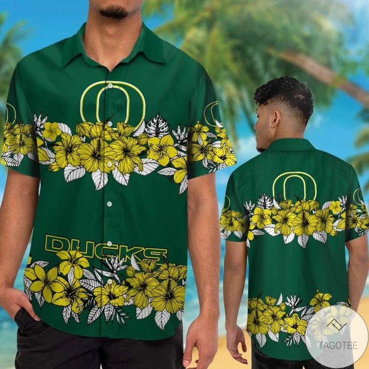 Oregon Ducks Hawaiian Shirt