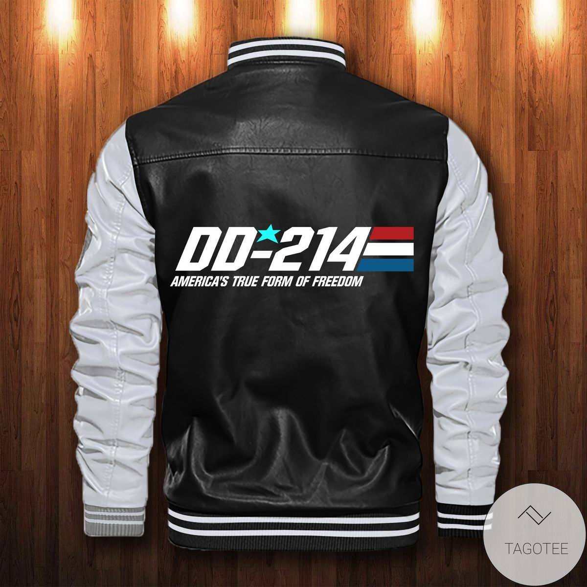 Fantastic Personalized America's True Form Of Freedom Leather Bomber Jacket