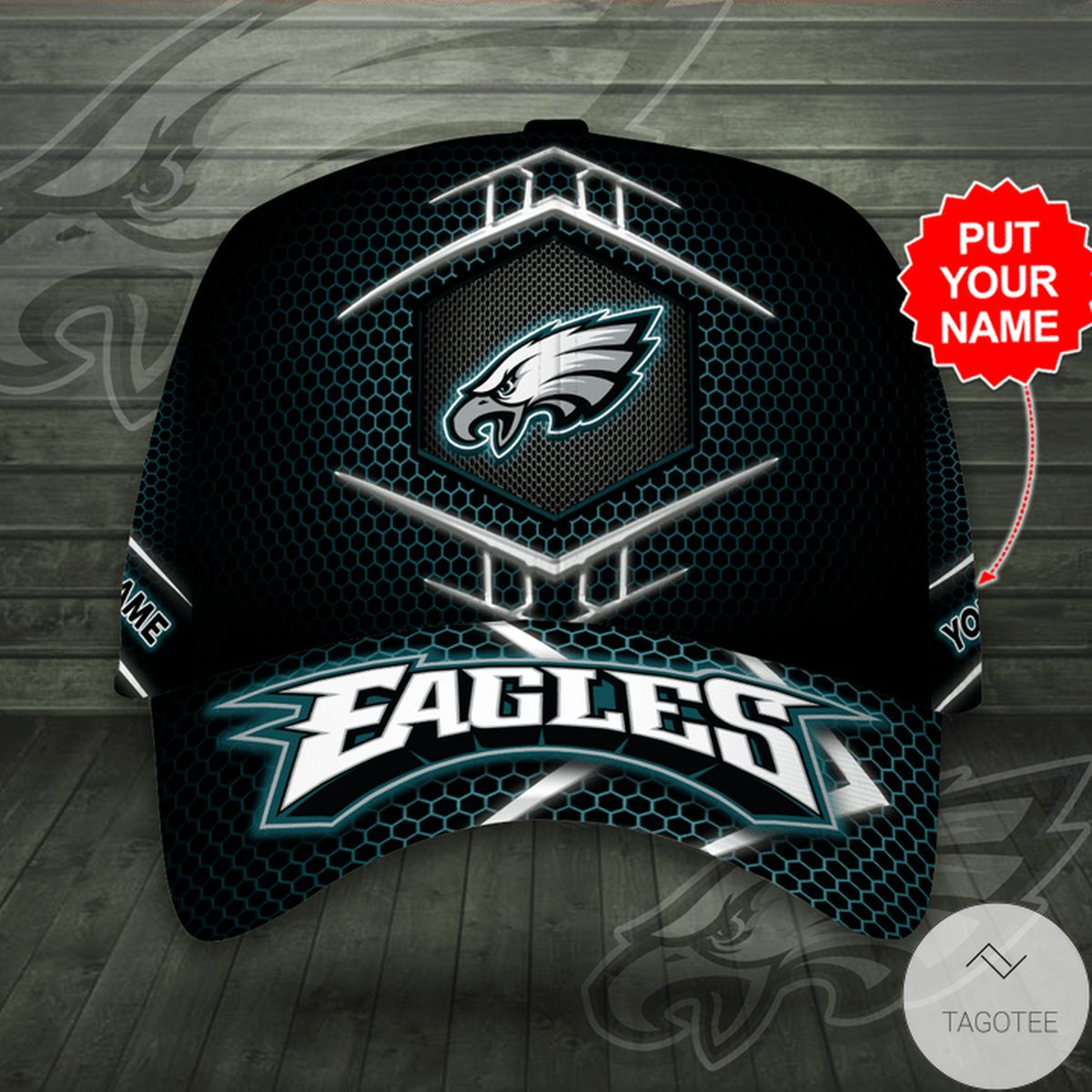 Great Quality Personalized Eagles Cap
