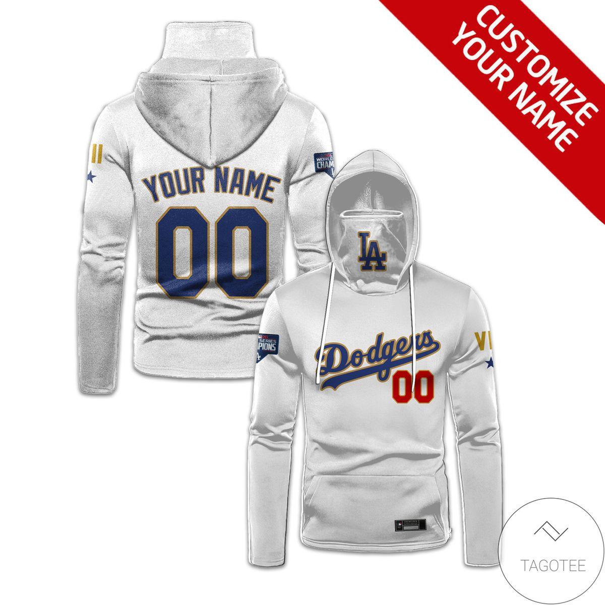Best Shop Personalized Los Angeles Dodgers Gaiter Mask Hoodie