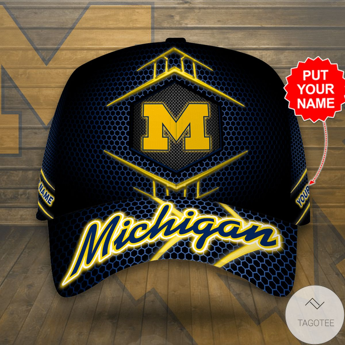 Vibrant Personalized Michigan Cap