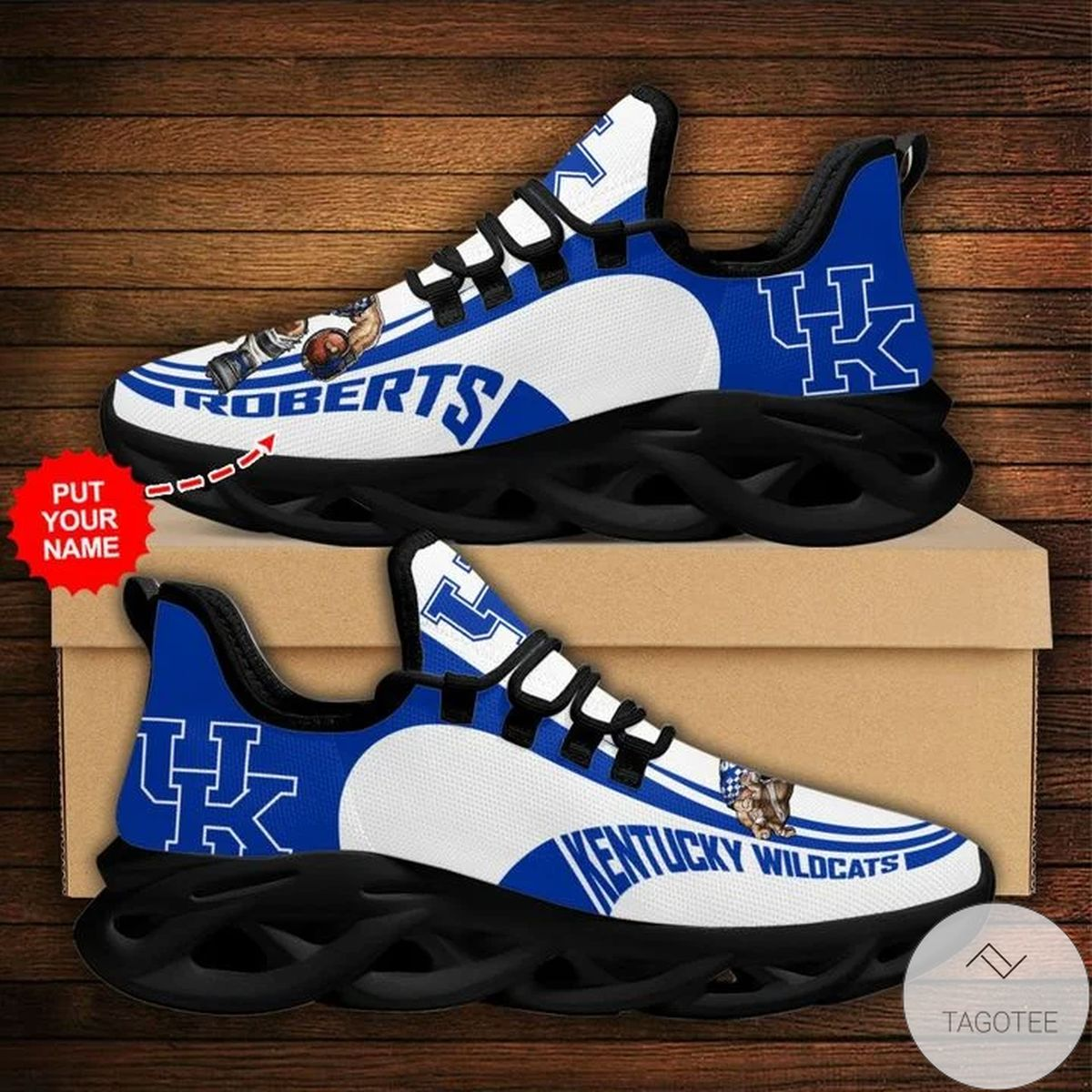 Personalized NCAA Kentucky Wildcats Sneaker Max Soul Shoes