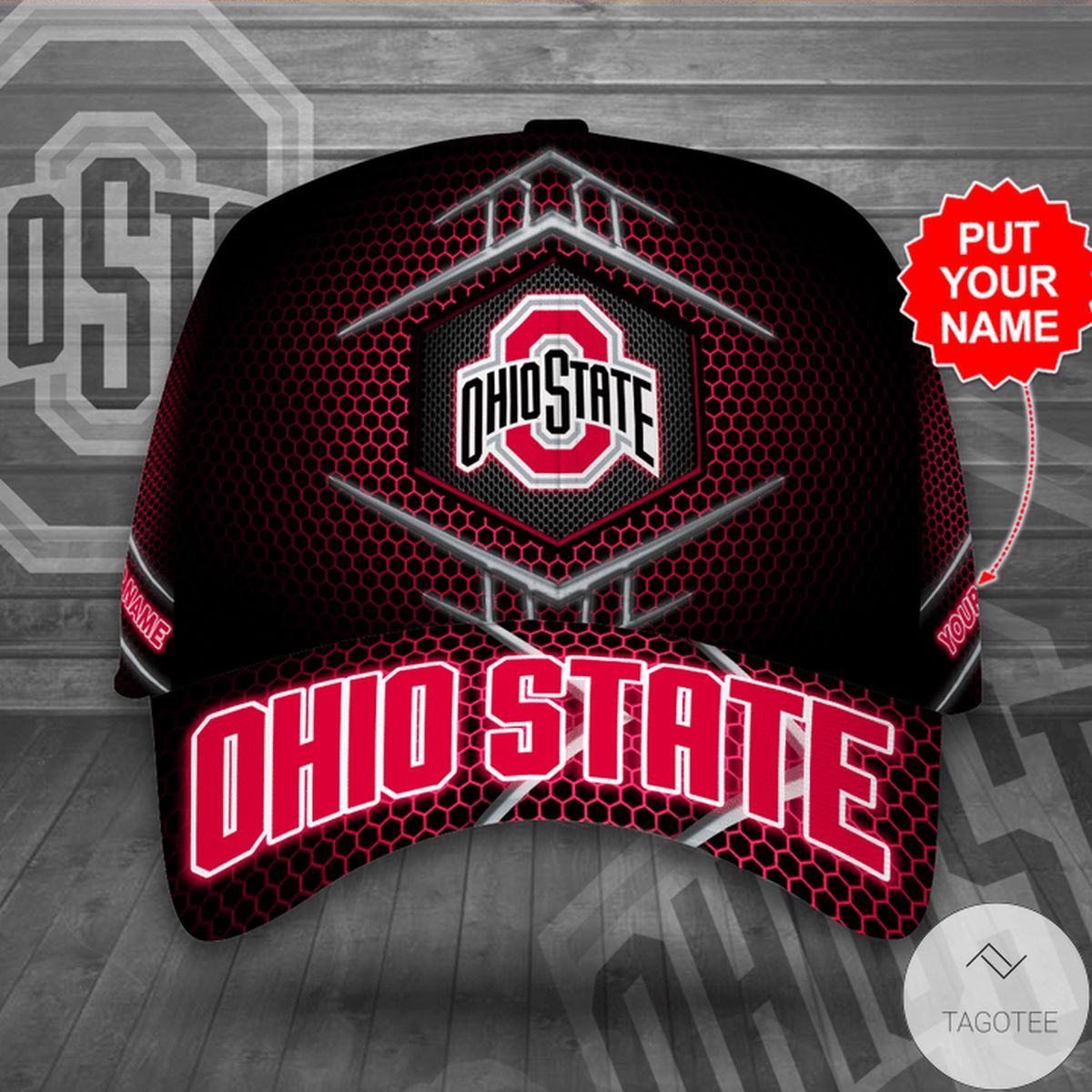 Limited Edition Personalized Ohio State Cap