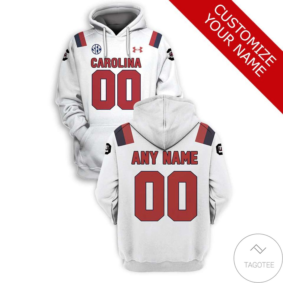 Buy In US Personalized South Carolina Gamecocks Branded Team Unisex 3d Hoodie