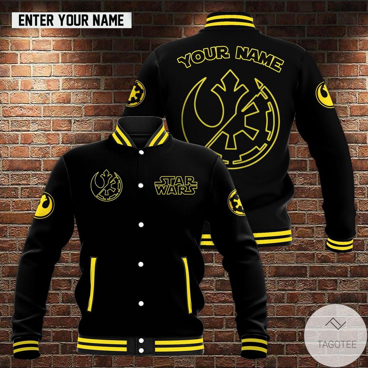 Personalized Star Wars Baseball Jacket