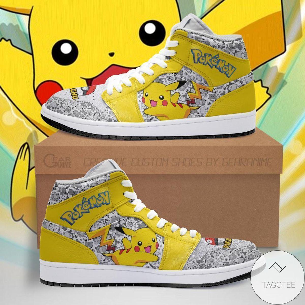 eBay Pikachu Pokemon Air Jordan High Top Shoes
