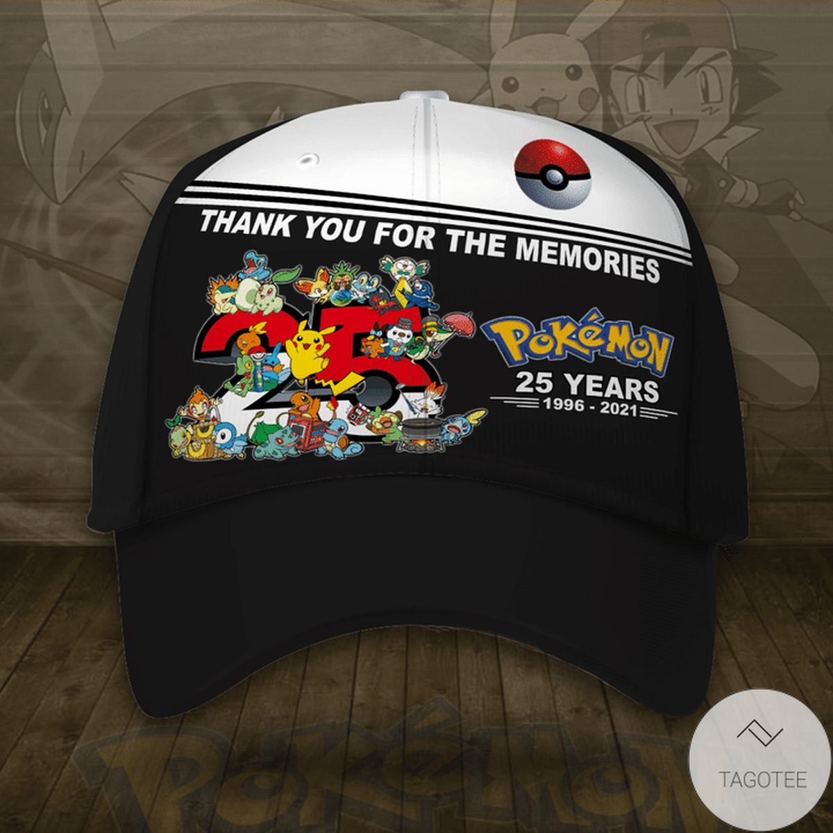 Pokemon 25th Anniversary Cap