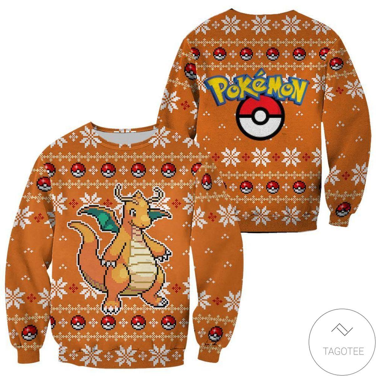 Pokemon Greninja Ugly Christmas Sweater