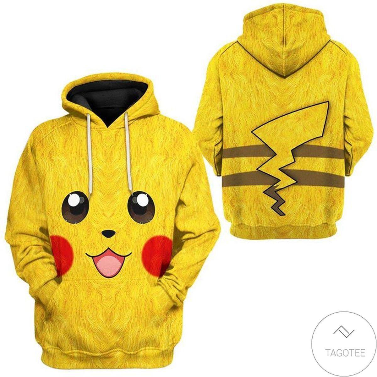Pokemon Pikachu 3d Hoodie