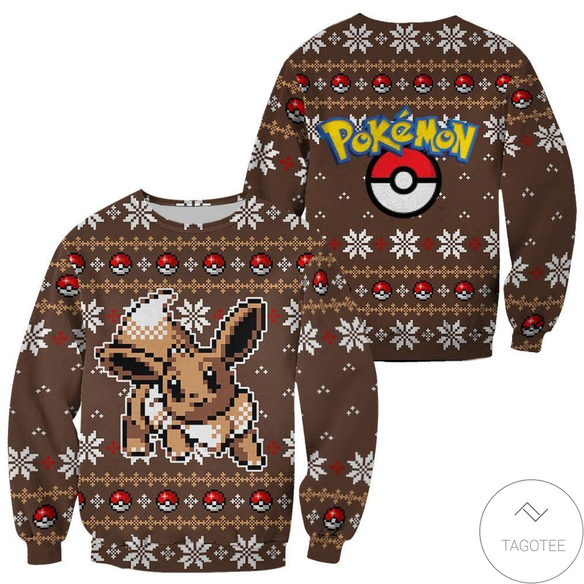 Pokemon Snorlax Ugly Christmas Sweater