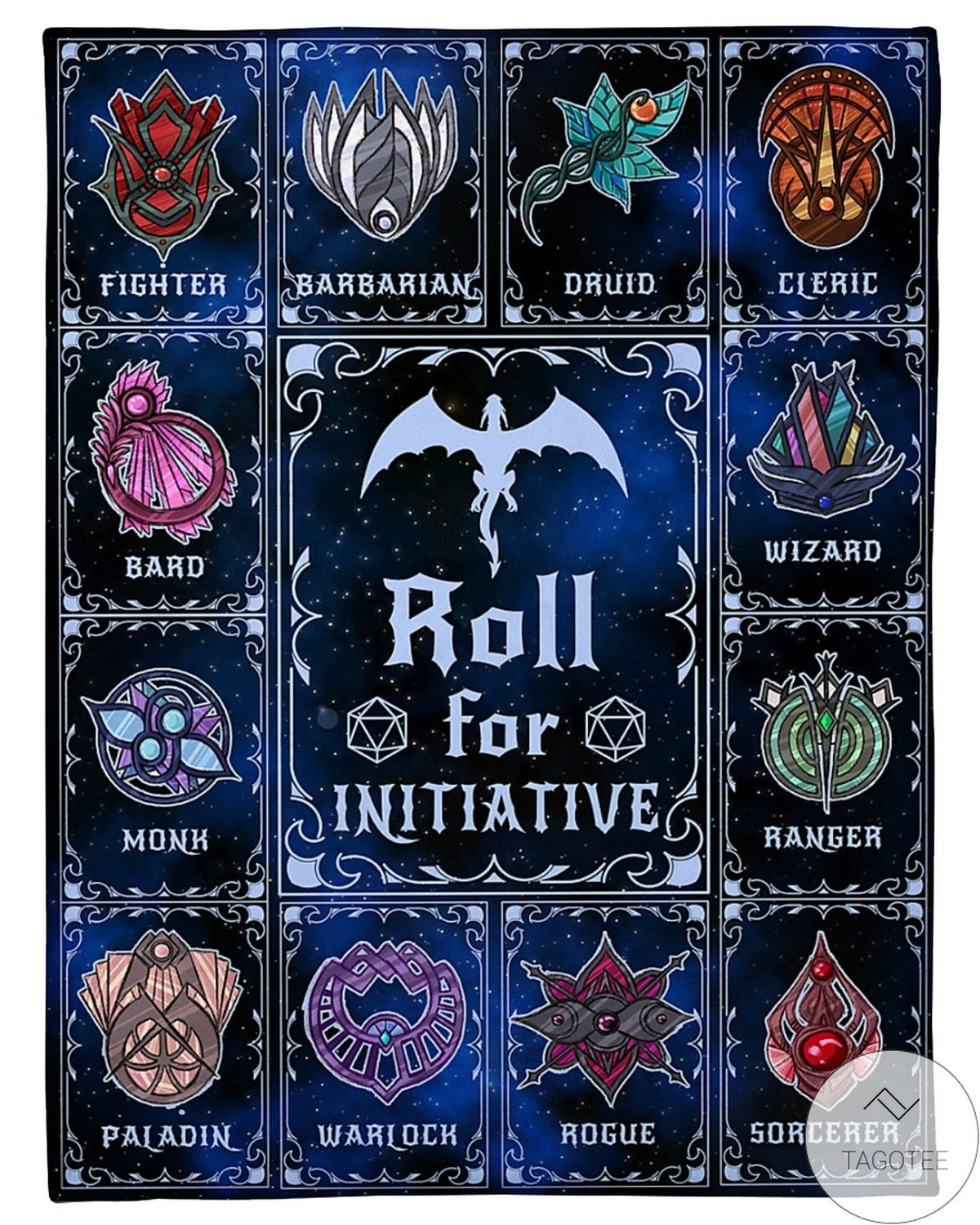 All Over Print Roll For Initiative Fleece Blanket