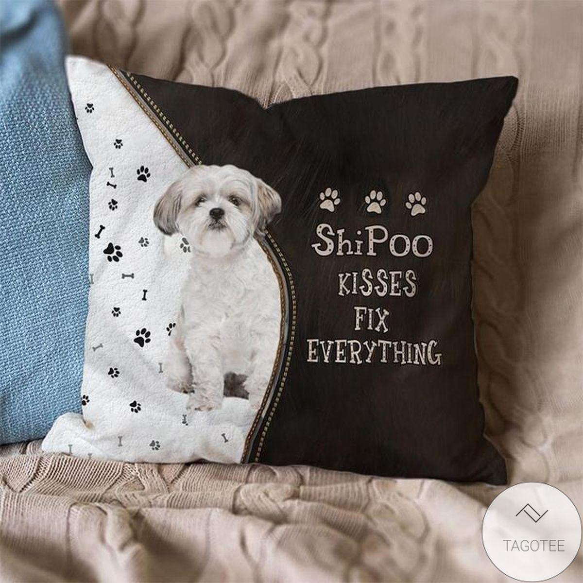 Clothing ShiPoo Kisses Fix Everything Pillowcase
