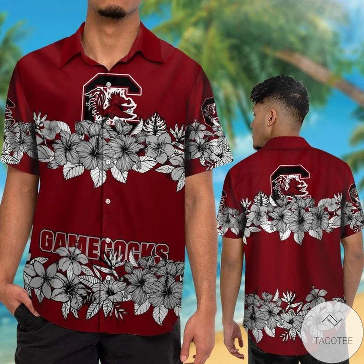 South Carolina Gamecocks Hawaiian Shirt