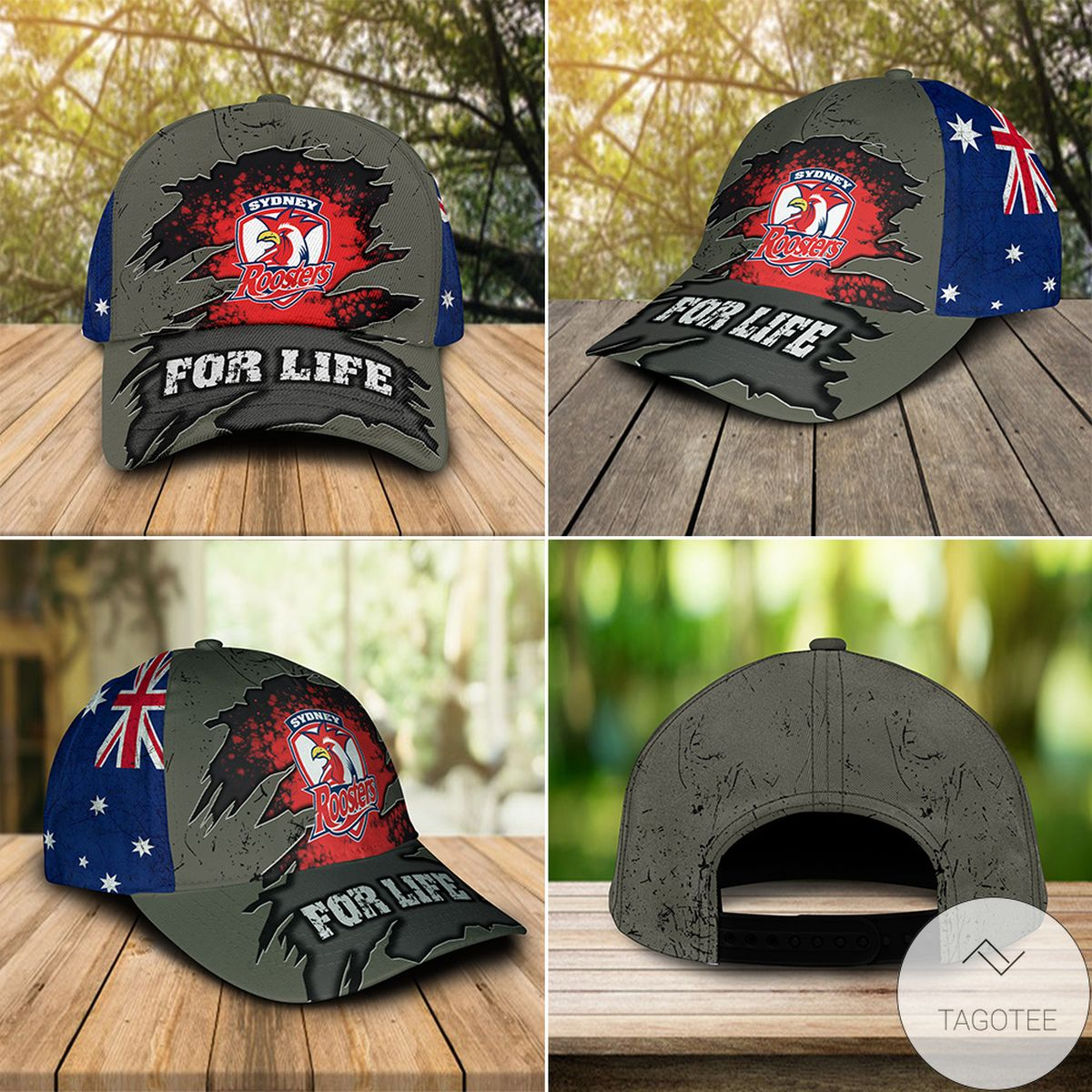 Sydney Roosters For Life Cap