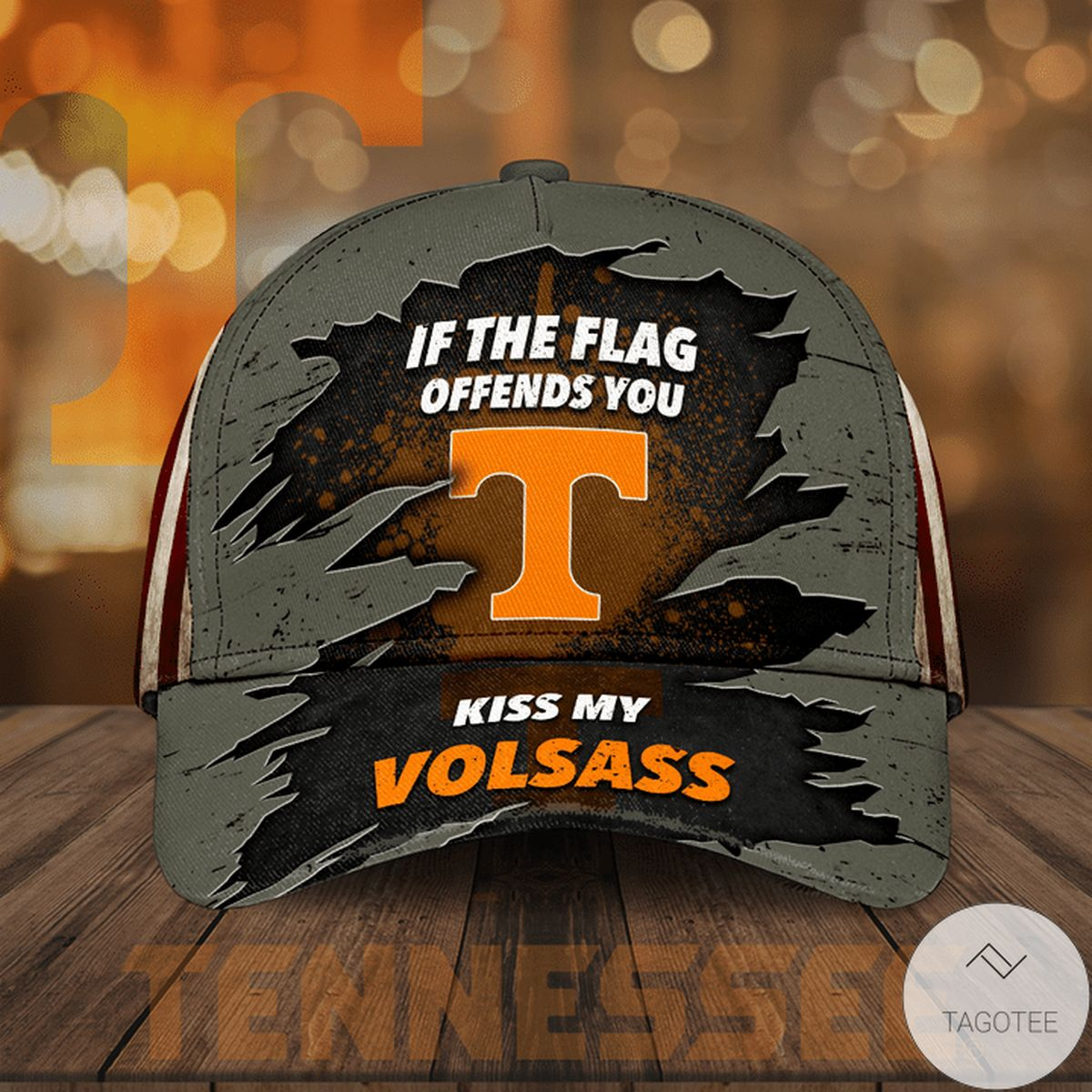 Tennessee Volunteers If The Flag Offends You Cap