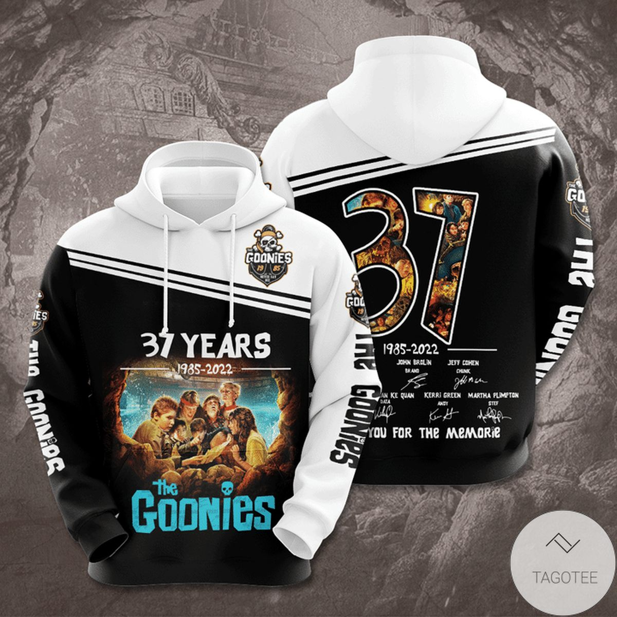 The Goonies 37 Years Thank You For The Memories 3d Hoodie