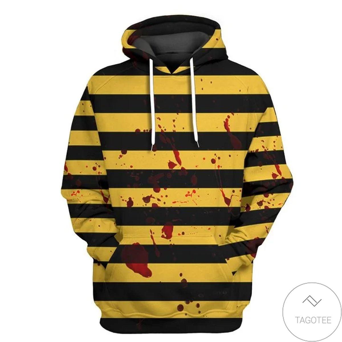 Unique The Killer Bee 3d Hoodie