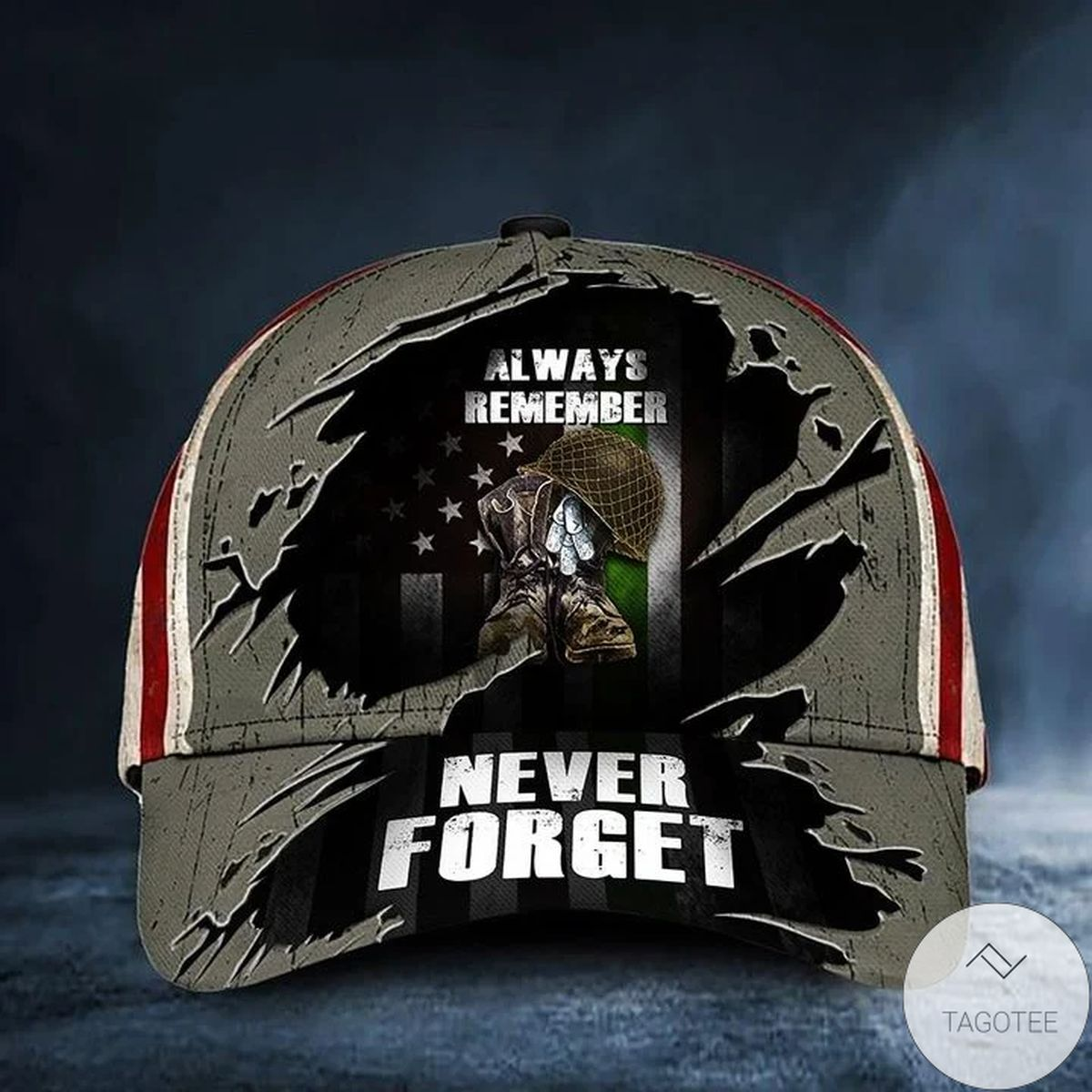 Best Shop Thin Green Line Always Remember Never Forget Hat USA Flag Patriotic Gift For Veterans Day 2021