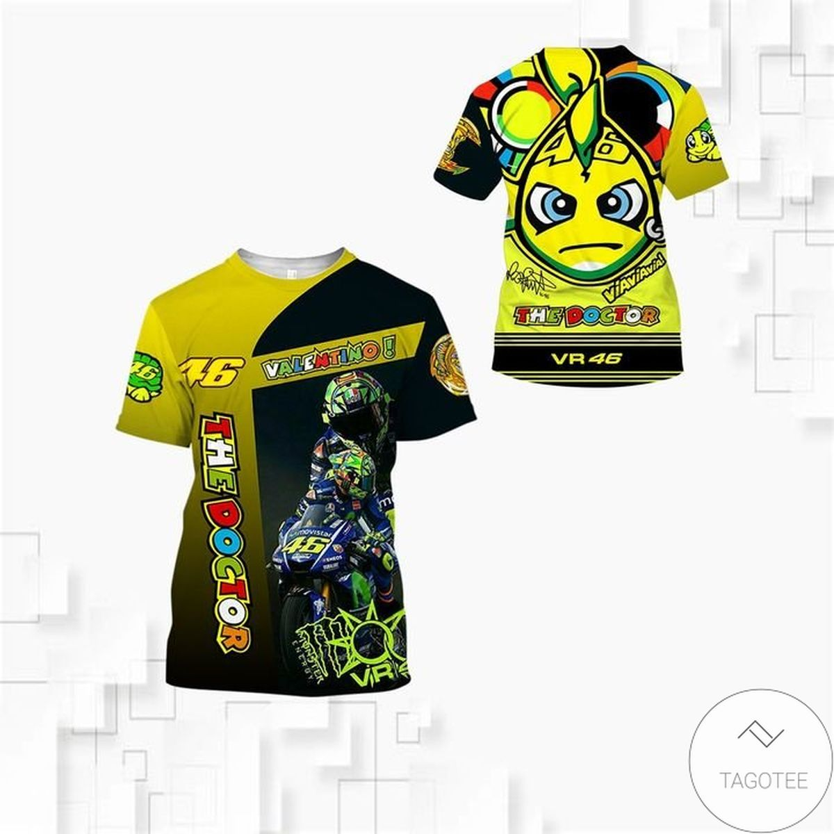 Valentino The Doctor Rossi 46 3d Shirt