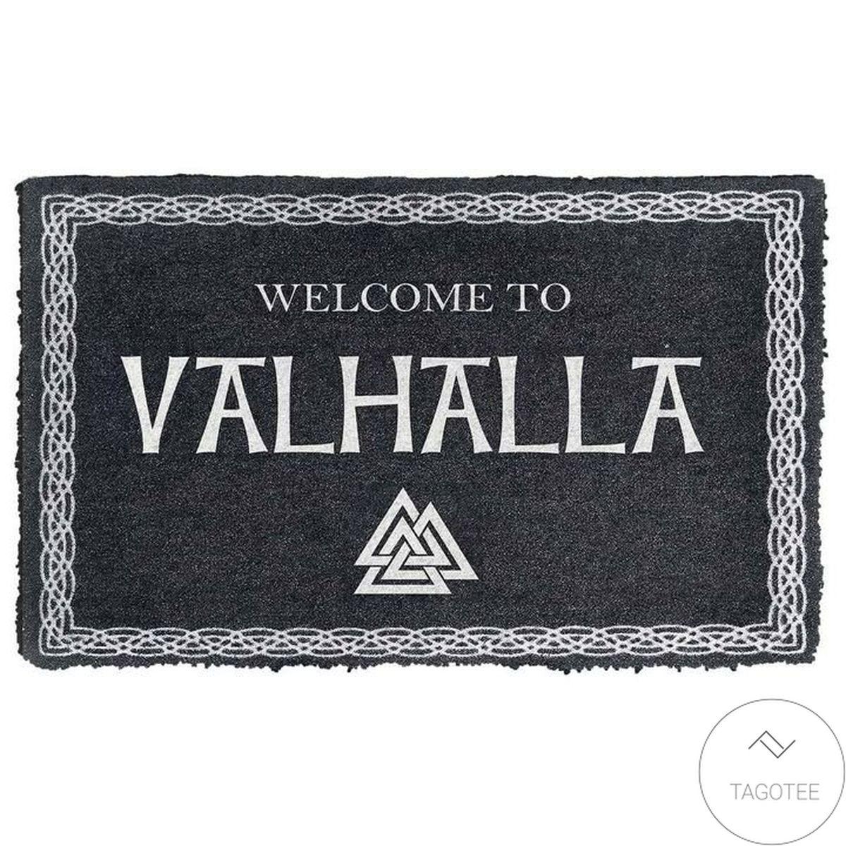 Welcome To Valhalla Doormat