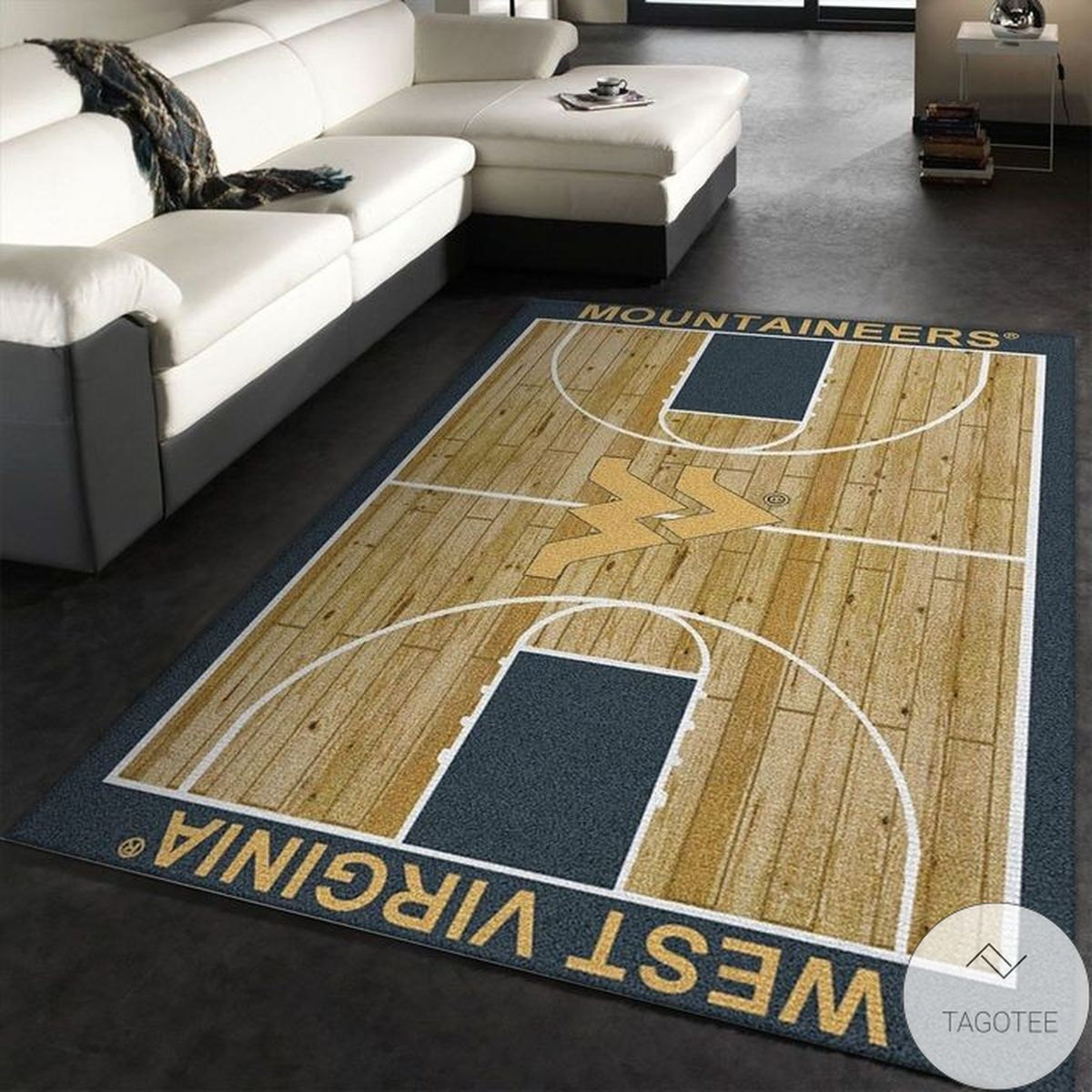 Awesome West Virginia Mountaineers Rug