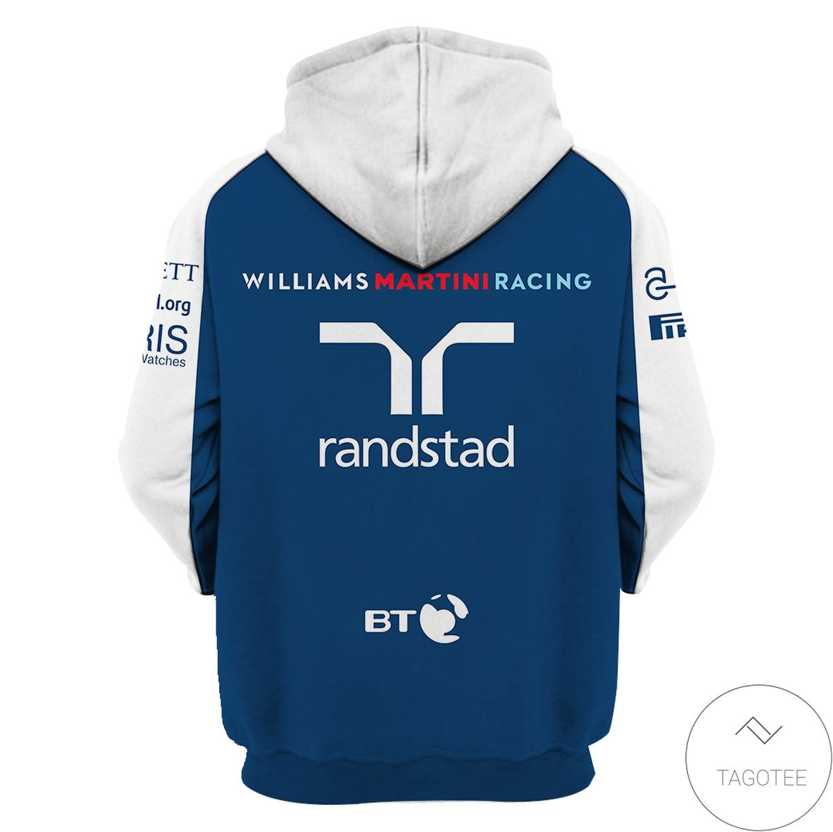 Father's Day Gift Williams Racing Branded Unisex 3d Hoodie
