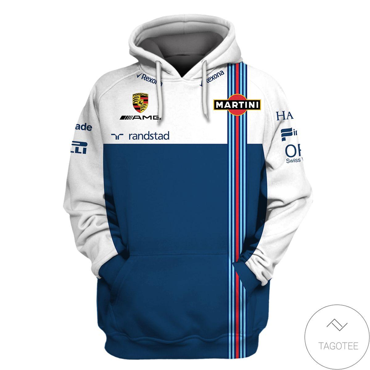 Williams Racing Branded Unisex 3d Hoodie
