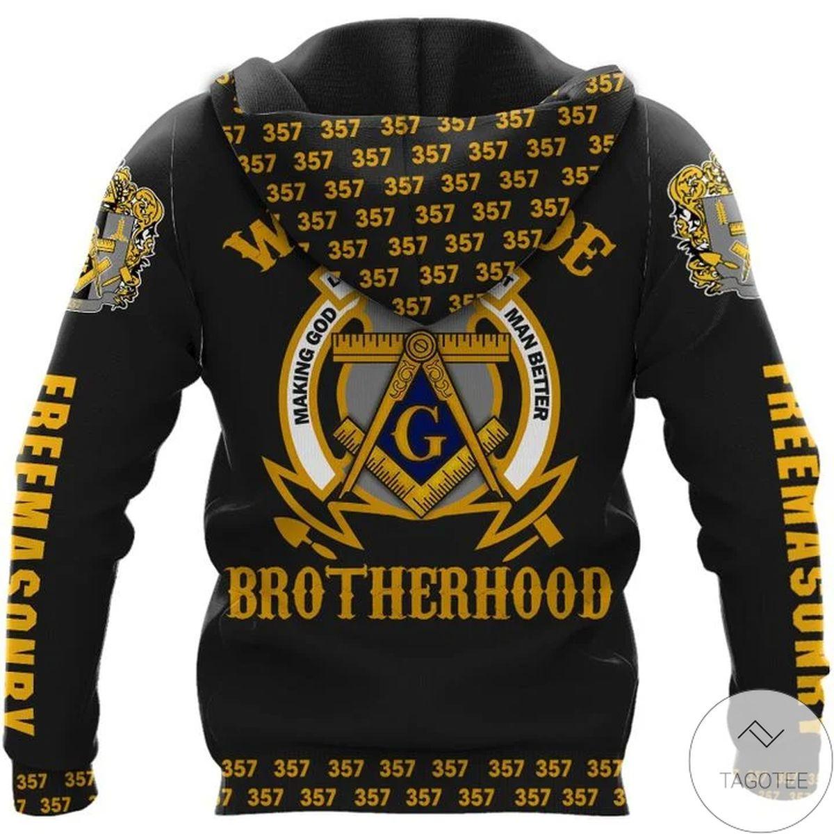 Adult Worldwide Brotherhood Prince Hall 35 Hoodie
